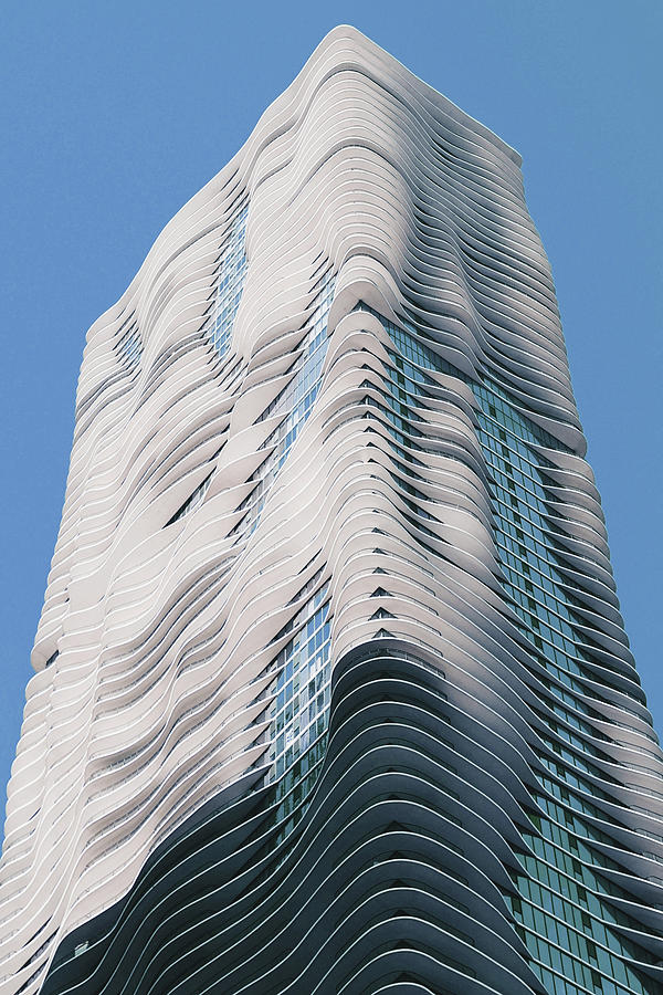 Chicago Skyline, Illinois, Usa - 33 - Surreal Art By Ahmet Asar Digital Art
