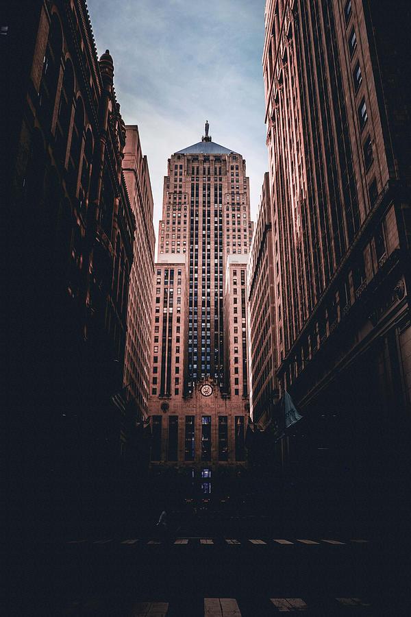 Chicago Skyline, Illinois, Usa - 50 - Surreal Art By Ahmet Asar Digital Art