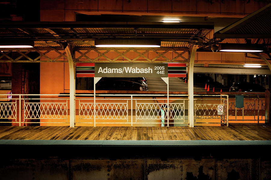 Chicago Transit Stop by Andrew Soundarajan