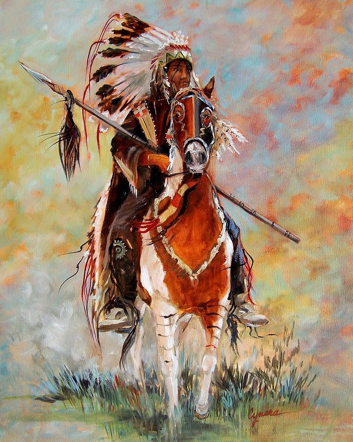 Chief Painting - Chief by Cynara Shelton