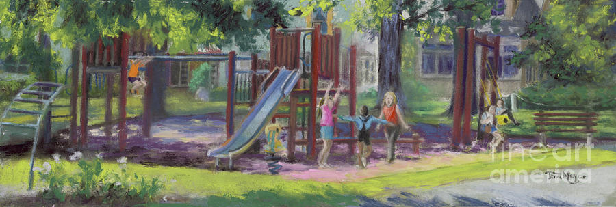 Children At Play Painting