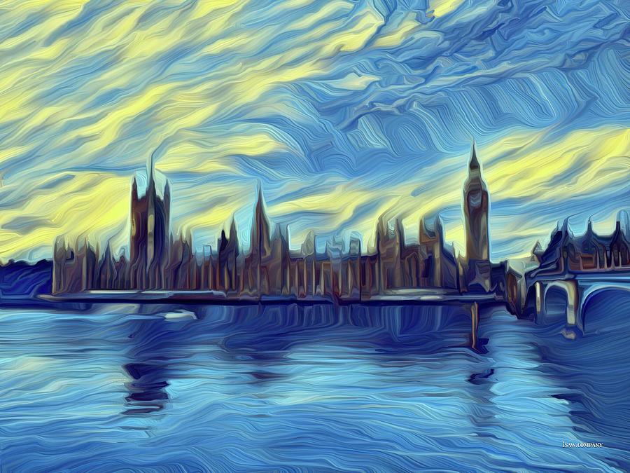 Chilled London Digital Art
