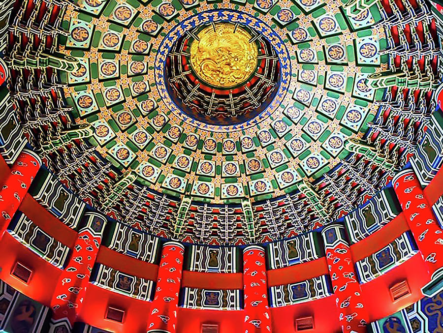 China Photograph - Temple of Heaven by Jeremy Edsall