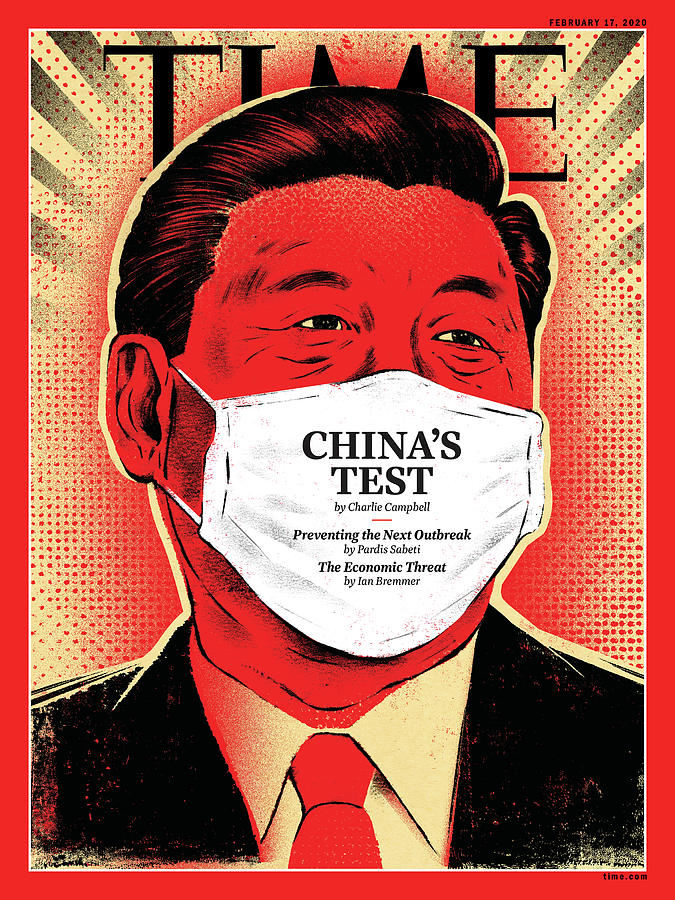 China Photograph - Chinas Test by Illustration by Edel Rodriguez for TIME