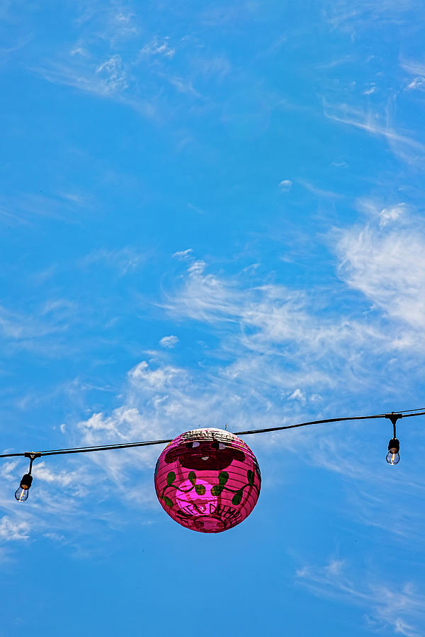Chinatown Nyc Lanterns Photograph