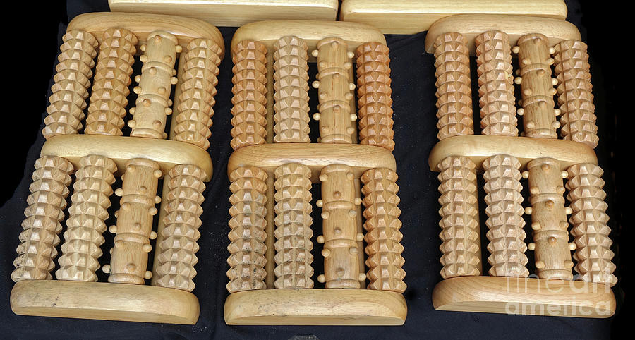 Chinese Foot Massage Rollers by Yali Shi