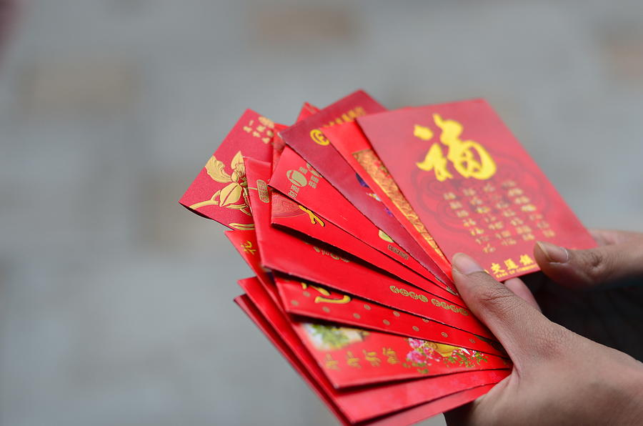 Chinese new year ritual Photograph by Copyright by Ata Mohammad Adnan