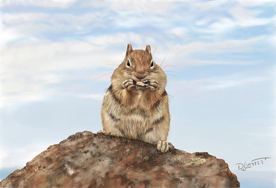Chipmunk by David Luebbert