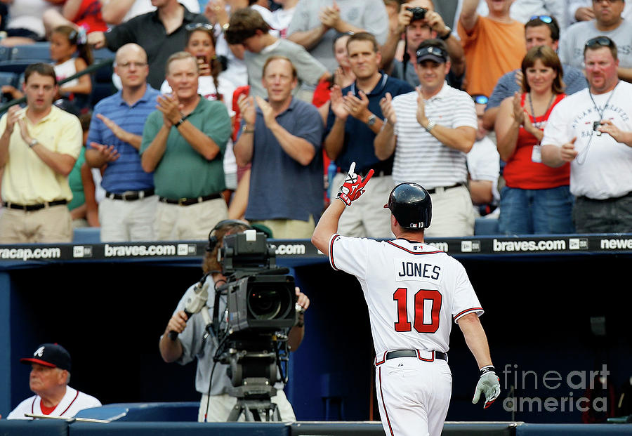 Chipper Jones Photograph by Kevin C. Cox