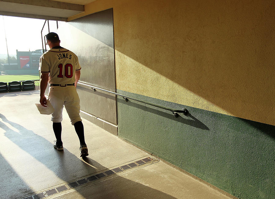 Chipper Jones Photograph by Mike Ehrmann