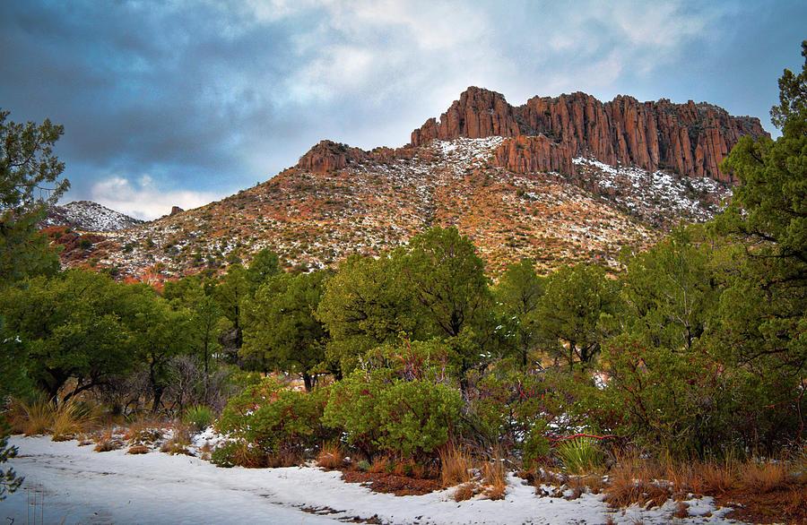 Chiricahua Mountains Snow by Chance Kafka