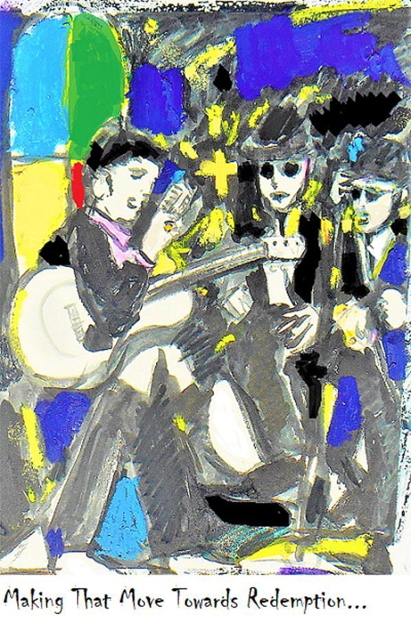 Choir Boys Painting