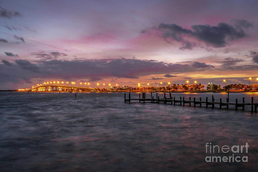 Choppy Water Causeway View by Tom Claud