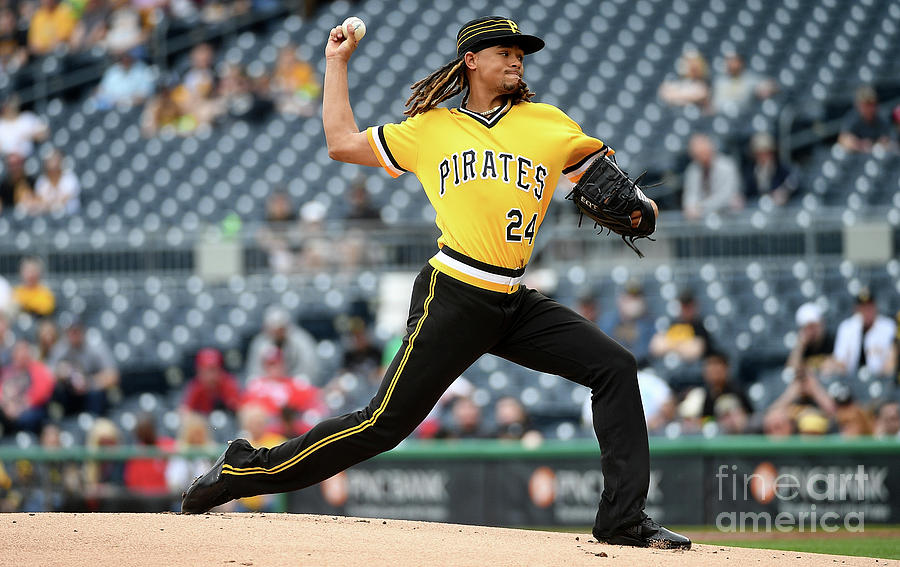 Chris Archer Photograph by Justin Berl