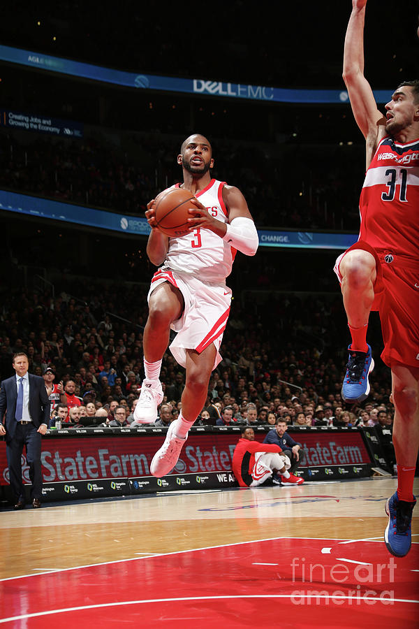 Chris Paul Photograph by Ned Dishman