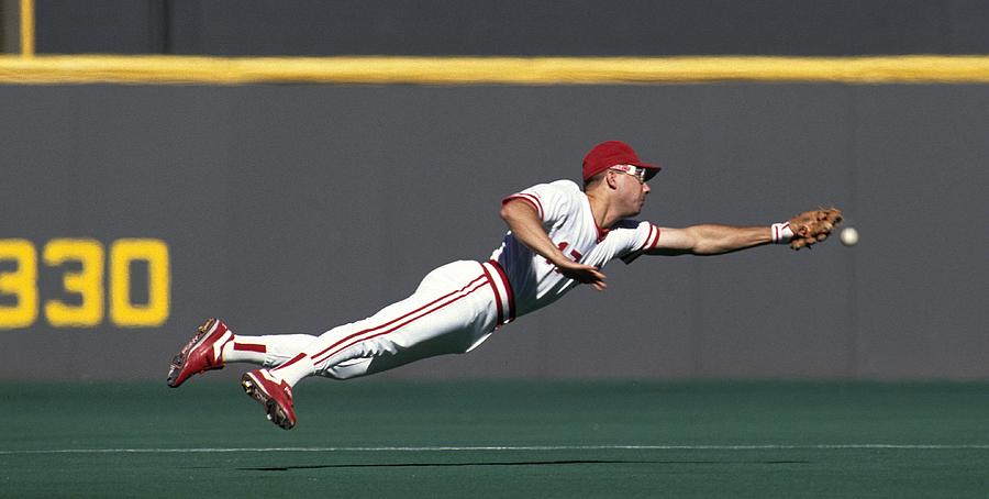 Chris Sabo Photograph by Ronald C. Modra/sports Imagery