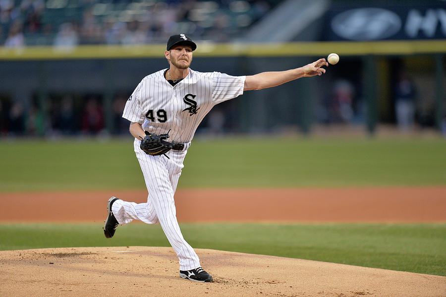 Chris Sale Photograph by Brian Kersey