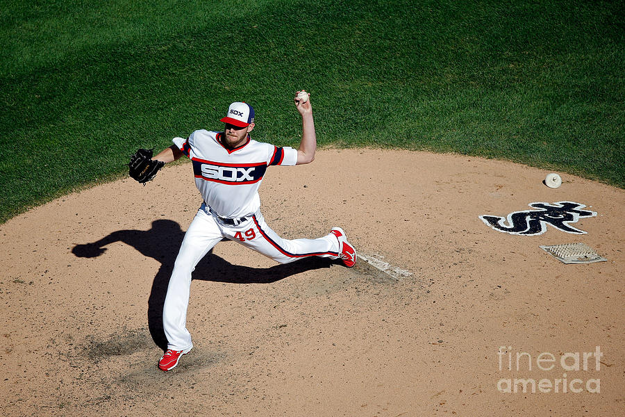 Chris Sale Photograph by Jon Durr