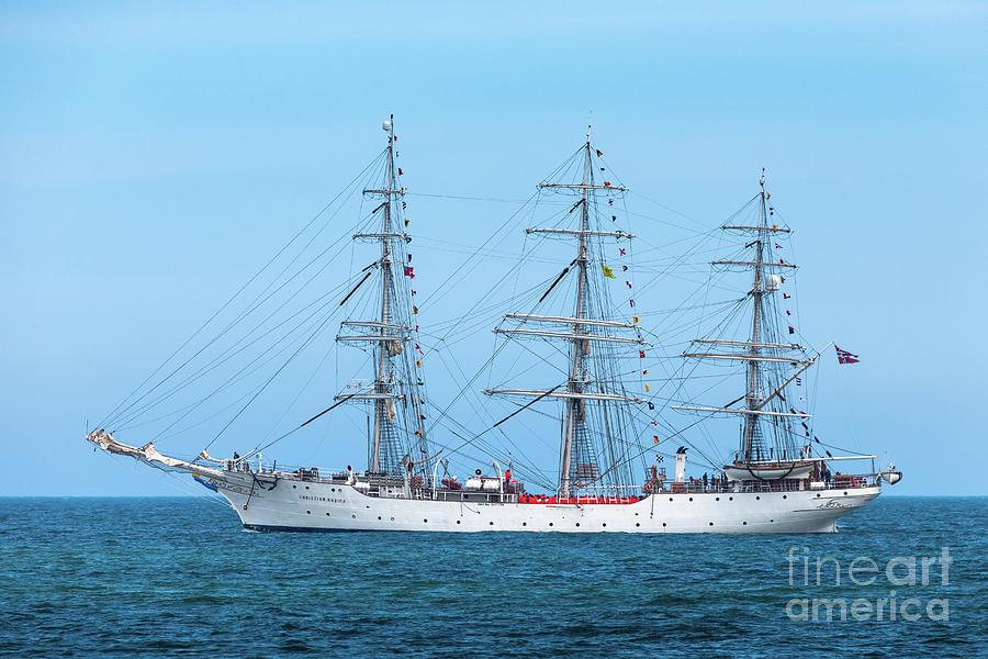 Christian Radich - Tall Ship - North Sea Photograph