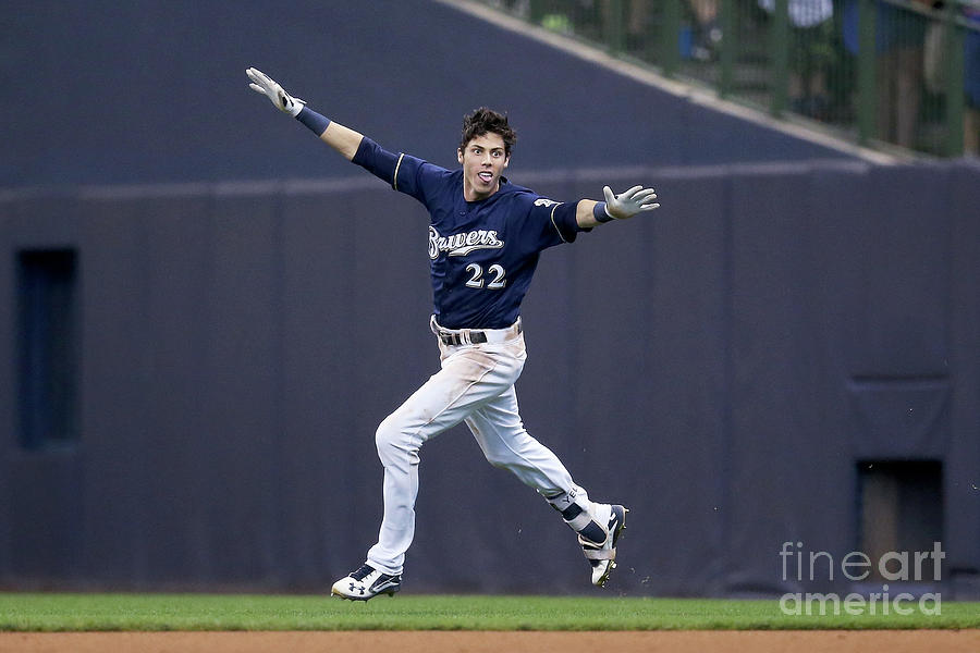 Christian Yelich Photograph by Dylan Buell