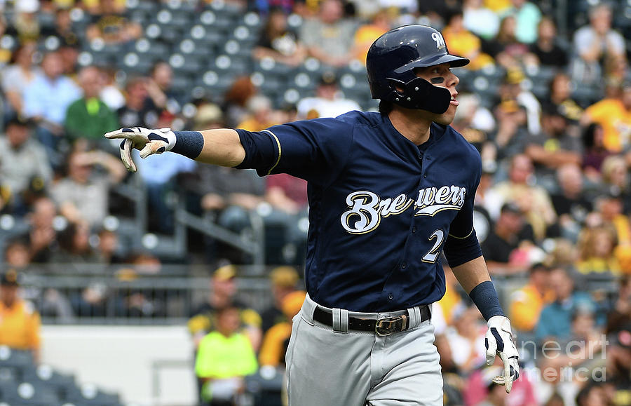 Christian Yelich Photograph by Justin Berl