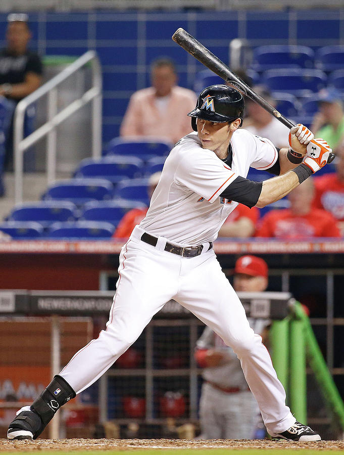 Christian Yelich Photograph by Rob Foldy