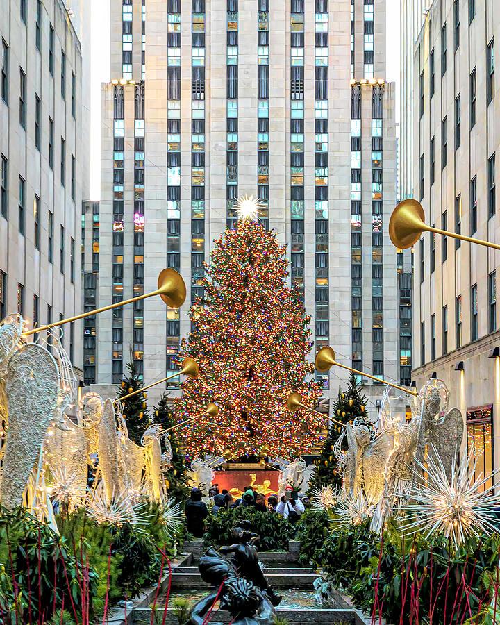 Christmas At Rockefeller Center Photograph By Sandi Kroll