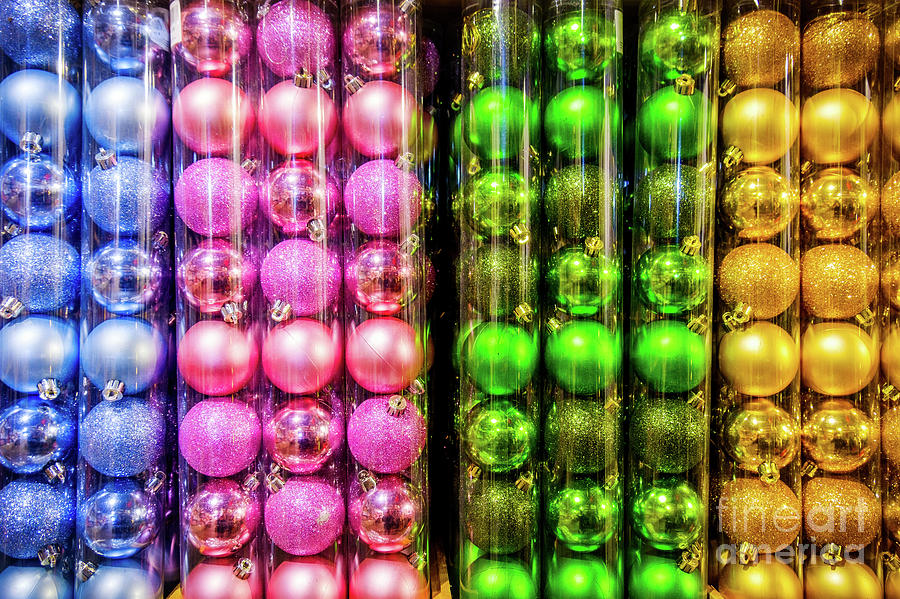 christmas balls texture for sale store background by Luca Lorenzelli
