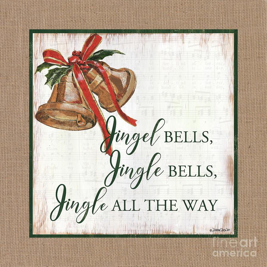 Christmas Bells 1 Painting