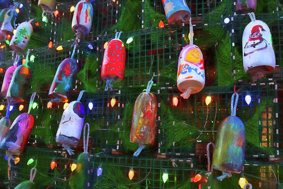 Christmas Buoys Photograph