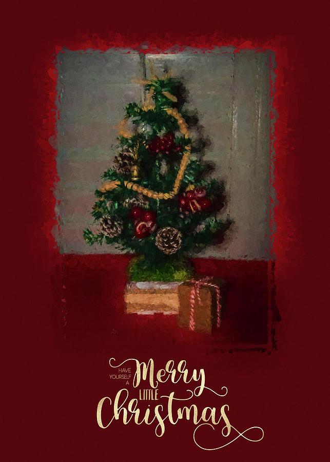 Holiday Photograph - Christmas Card 0884 by Cathy Kovarik