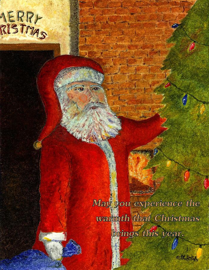 Christmas Card 2019 - A Reflective Moment by Glenn McCarthy