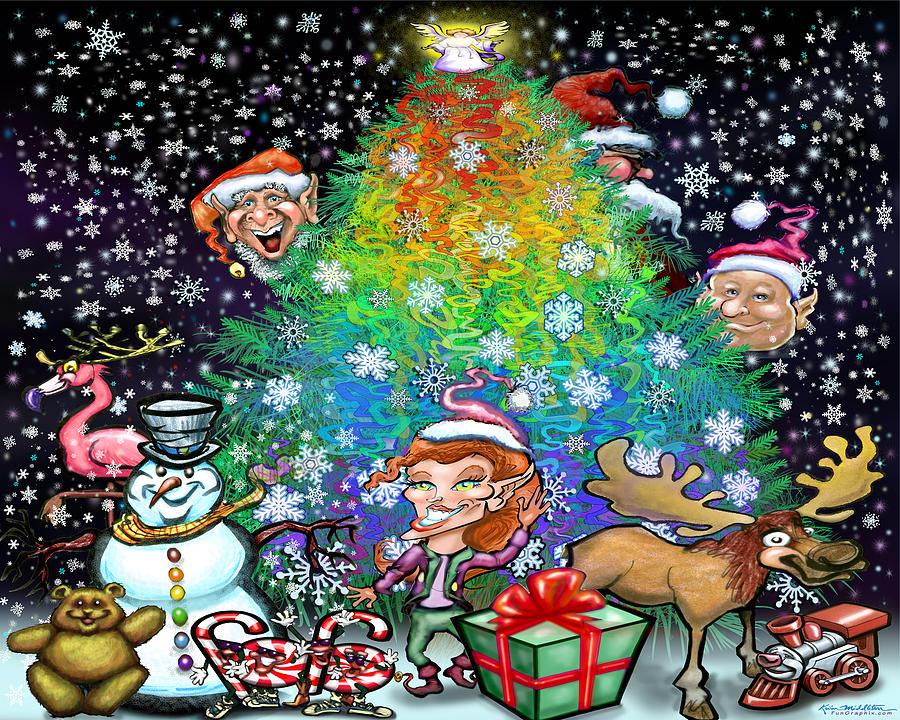 Christmas Cheer Digital Art