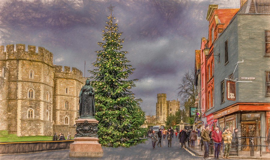 Christmas Comes to Windsor by Marcy Wielfaert