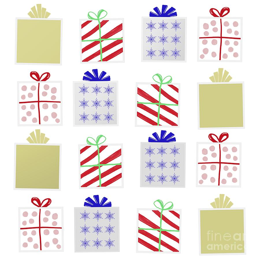 Christmas Gifts Digital Art