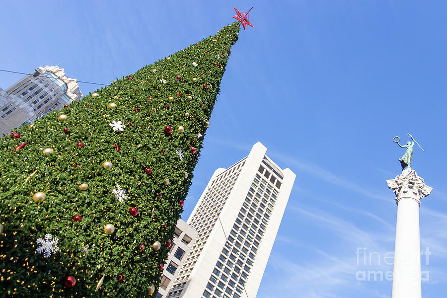 Christmas Holidays At San Francisco Union Square R1842 by San Francisco