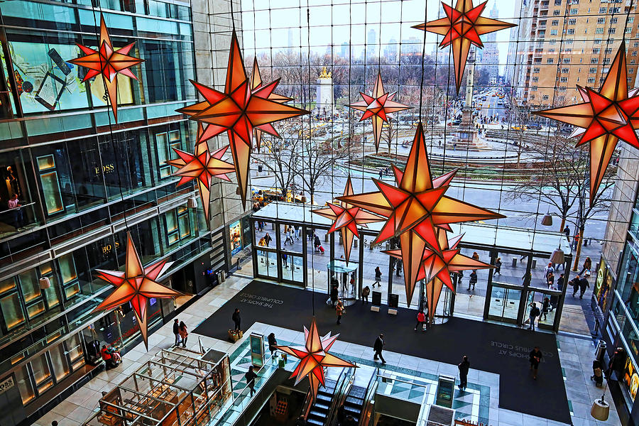 Christmas in the City 29 -  Holiday Under the Stars at The Shops at Columbus Circle by Allen Beatty