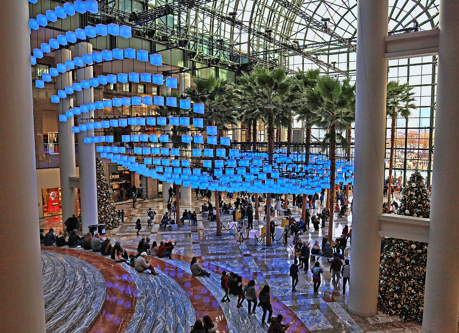 Christmas in the City 34 - Luminaries at Brookfield Place by Allen Beatty
