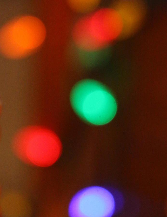 Christmas Lights by The Art Of Marilyn Ridoutt-Greene