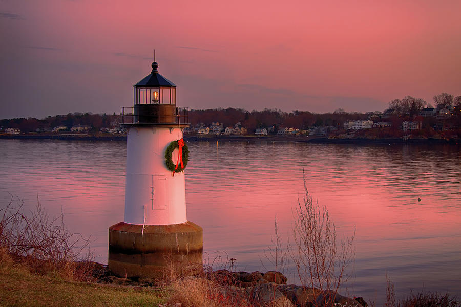 Christmas on Salem Harbor by Jeff Folger