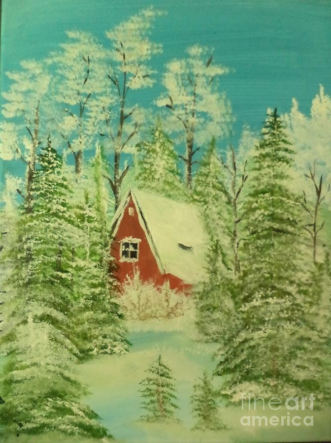 Christmas Postcard by Donald Northup