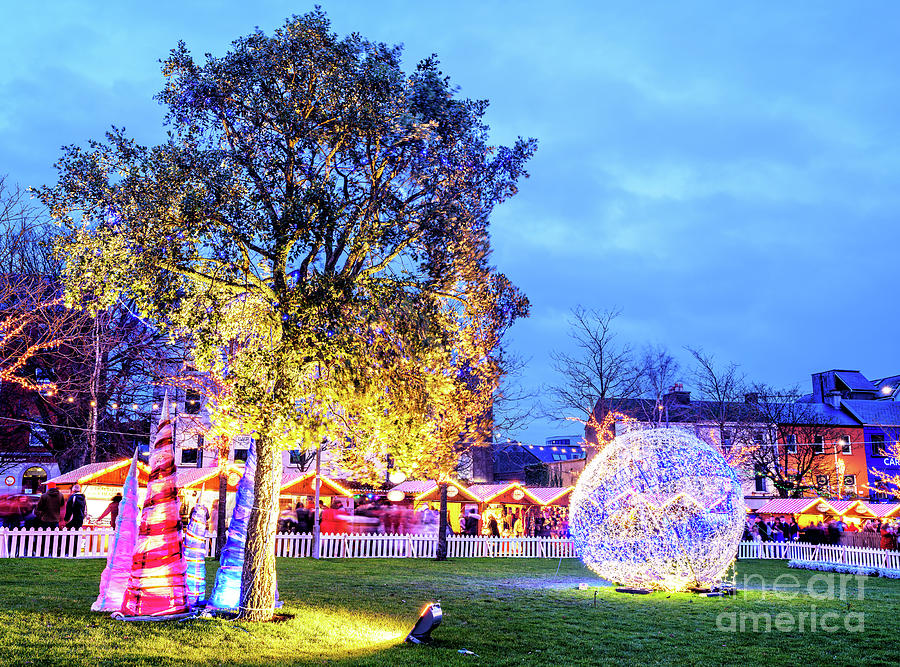 Christmas Style at Eyre Square Galway by John Rizzuto