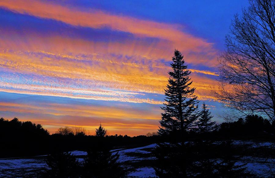 - Christmas Sunset - Lee Nh Photograph by - Theresa Nye