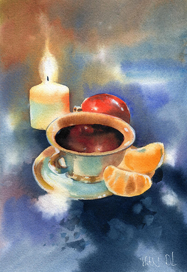 Christmas Tea Time by Dora Hathazi Mendes