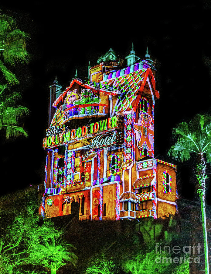 Christmas Tower Of Terror by Nick Zelinsky