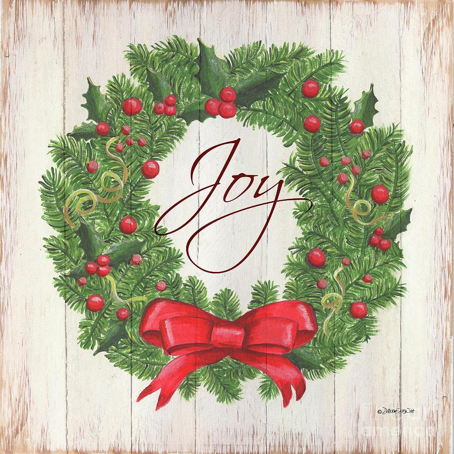 Christmas Wreath 1 Painting