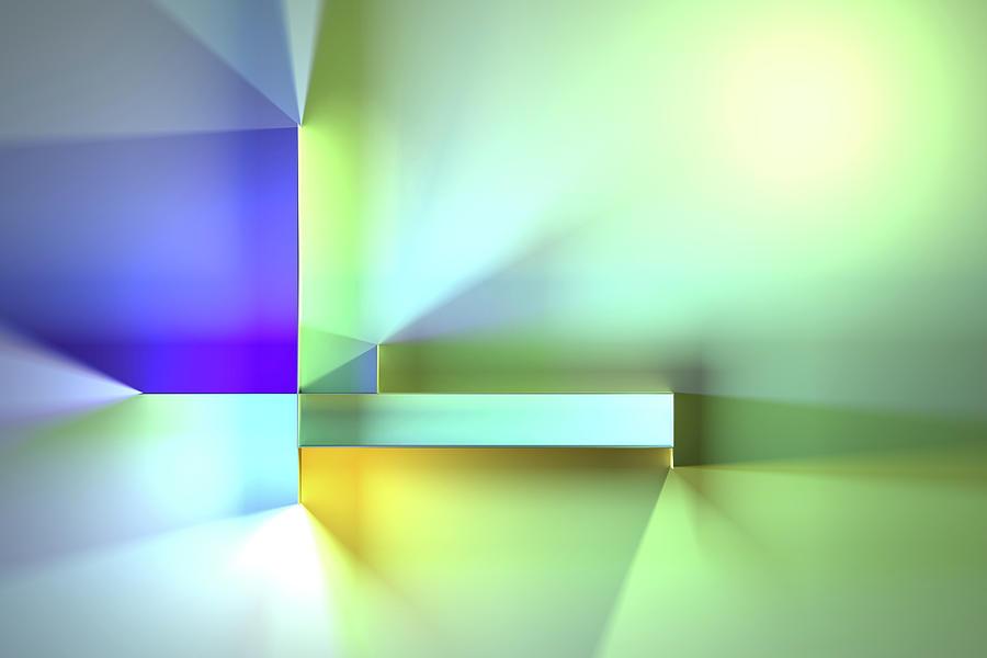 Chromatic Geometry 35 Digital Art