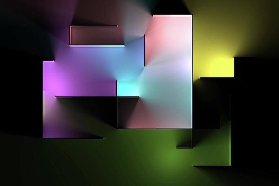 Chromatic Geometry 5 Digital Art