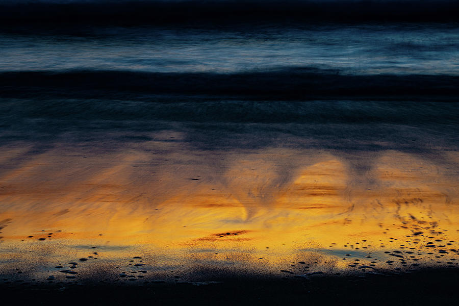 Tide Photograph - Chromatic Tide by GraphiGlyphics Photography