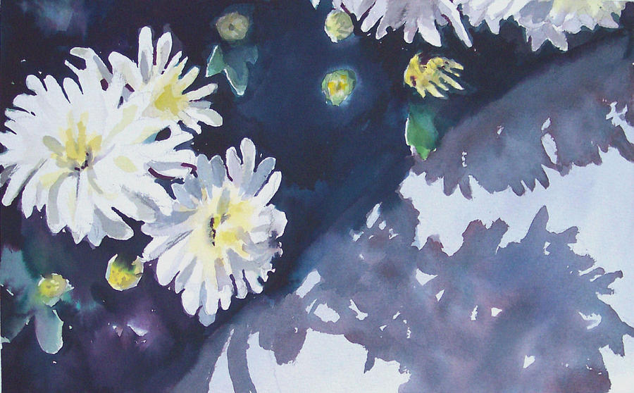 Chrysanthemum Painting - Chrysanthemums by Philip Fleischer